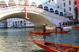 40th Regatta on Three Kings Day, Rialto Bridge, Venice