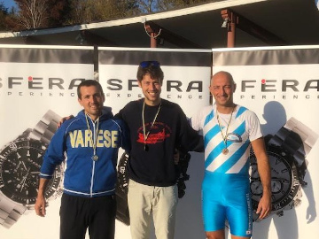 Primo classificato Insubria Rowing Cup 2019 Andrea Adorno