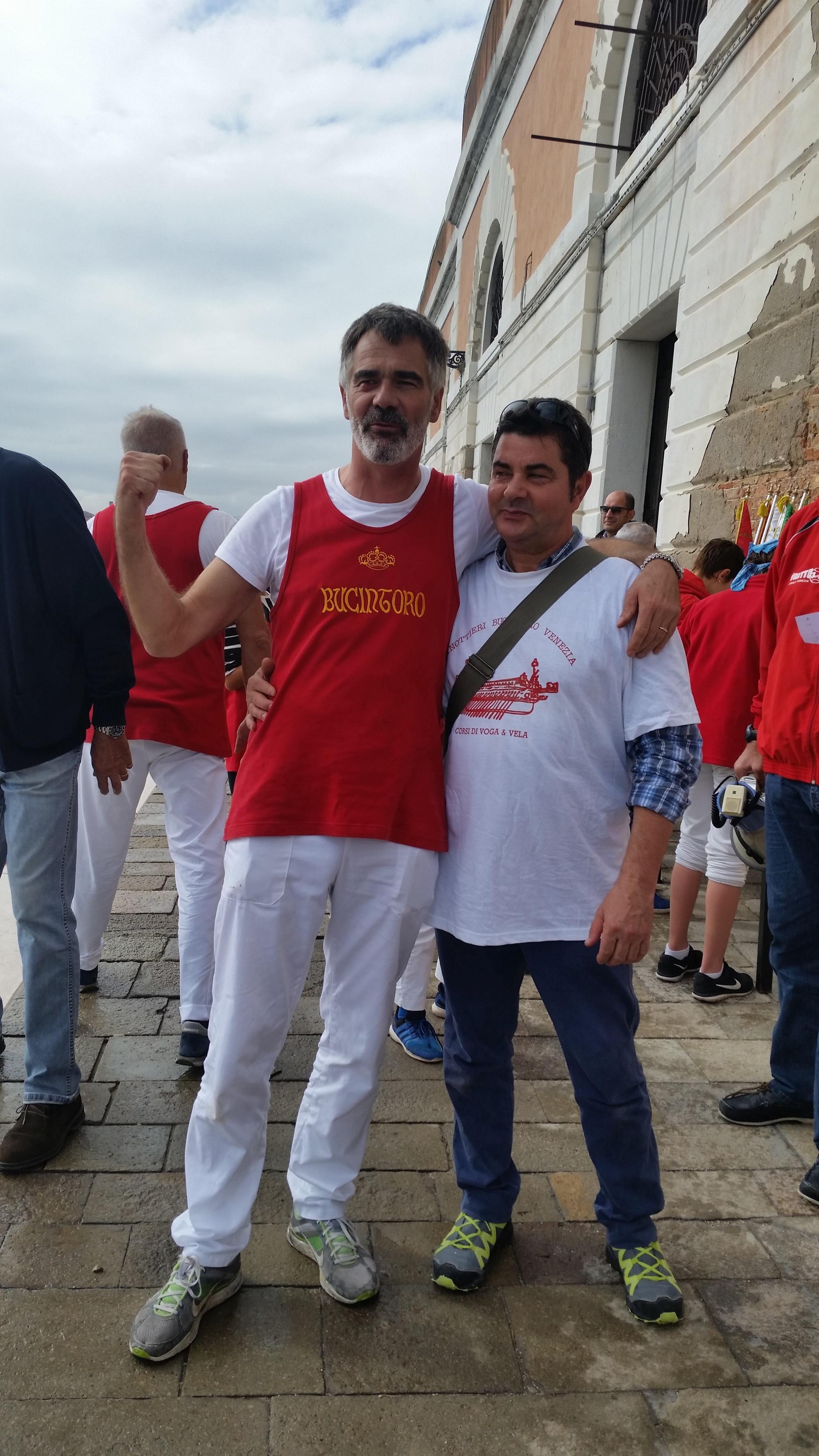 Marco Menegatti e Stefano Fasolato