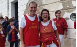 Riccardo Romanelli e Chiara Farnea