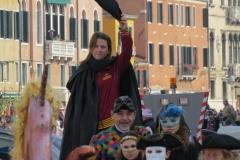Equipaggio Caorlina Bucintoro Corteo di Carnevale di Venezia 20170212