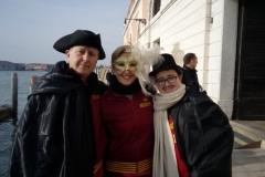 Carnevale di Venezia 2017, Corteo di barche su Canal Grande