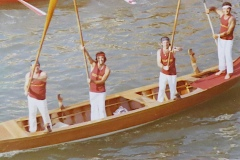 Alzaremi in gondola carpacinesca 1975