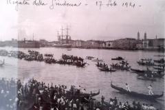 Canal Giudecca_Regata_1921