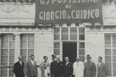 Esposizione Giorgio De Chirico 1954-10-01