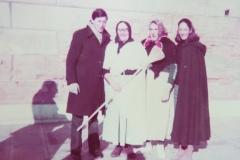 Pier Vettor e Marina Grimani con le Befane