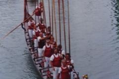Sulla Brenta al Fattoretto anni 80
