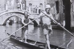Vincenzo Fagherazzi e Francesco De Gregori in Veneta 1974