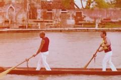 Vogalonga 1976 a Burano in veneta