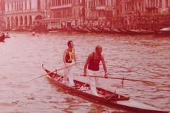 Vogalonga 1976 in veneta Canal Grande