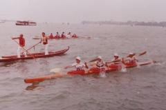 Vogalonga 1976 veneta e kayak 4 in bacino
