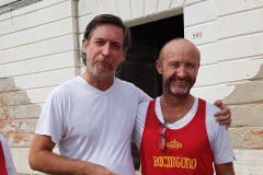 Giuseppe Dal Martello e Philippe Guéguen