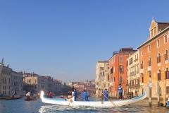 Canottieri Querini, Regata delle Befane 2019, Canal Grande,  Venezia