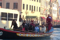 La barca da fresca alla Regata delle Befane 2019
