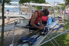 Preparando_le_scarpe_SingleSkiff_Bucintoro
